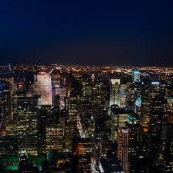 Mirando hacia Uptown Manhattan