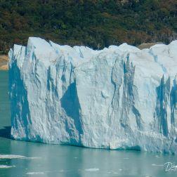 El extremo sur del Perito Moreno