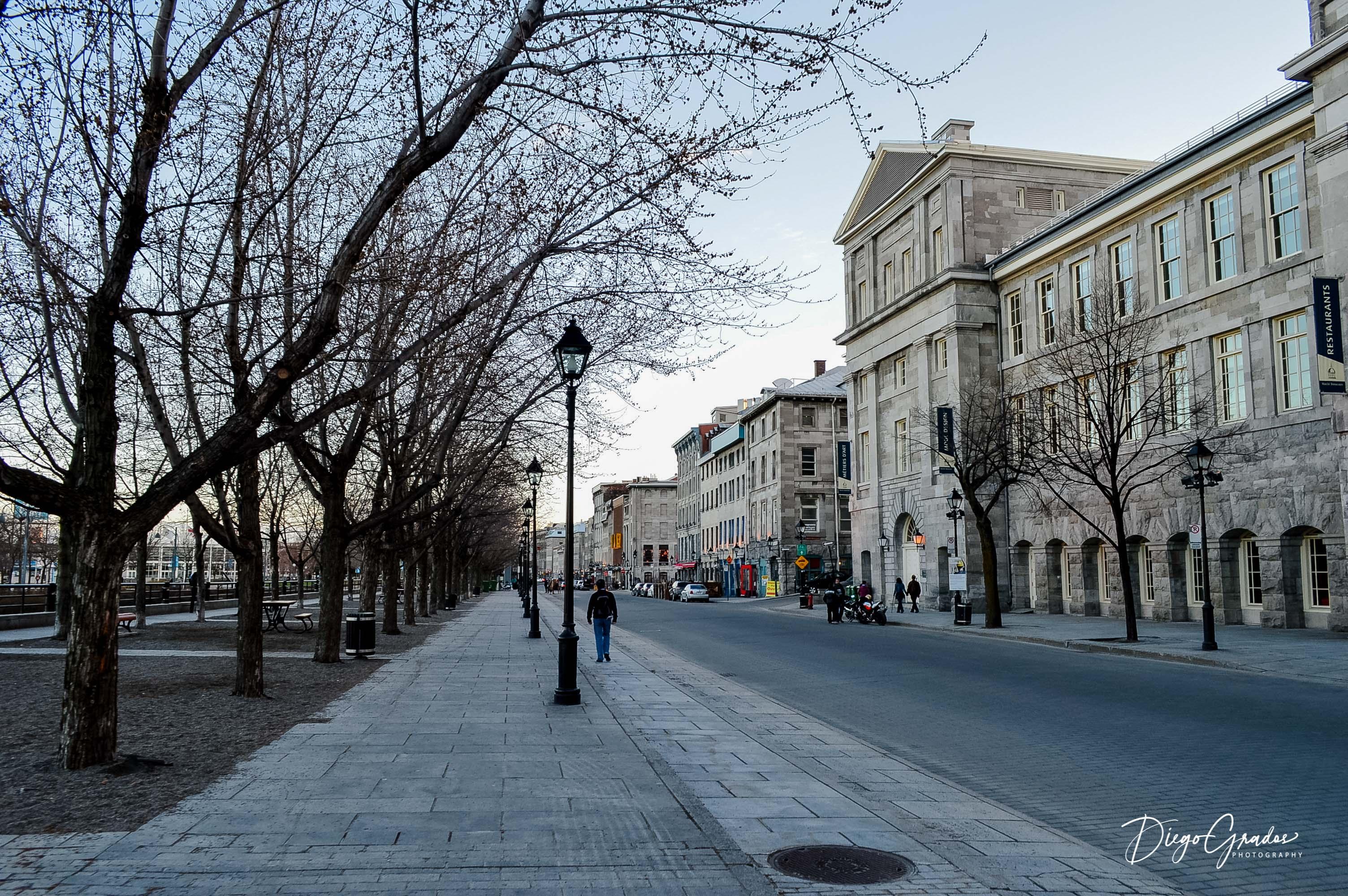 Rue de la Commune Montreal