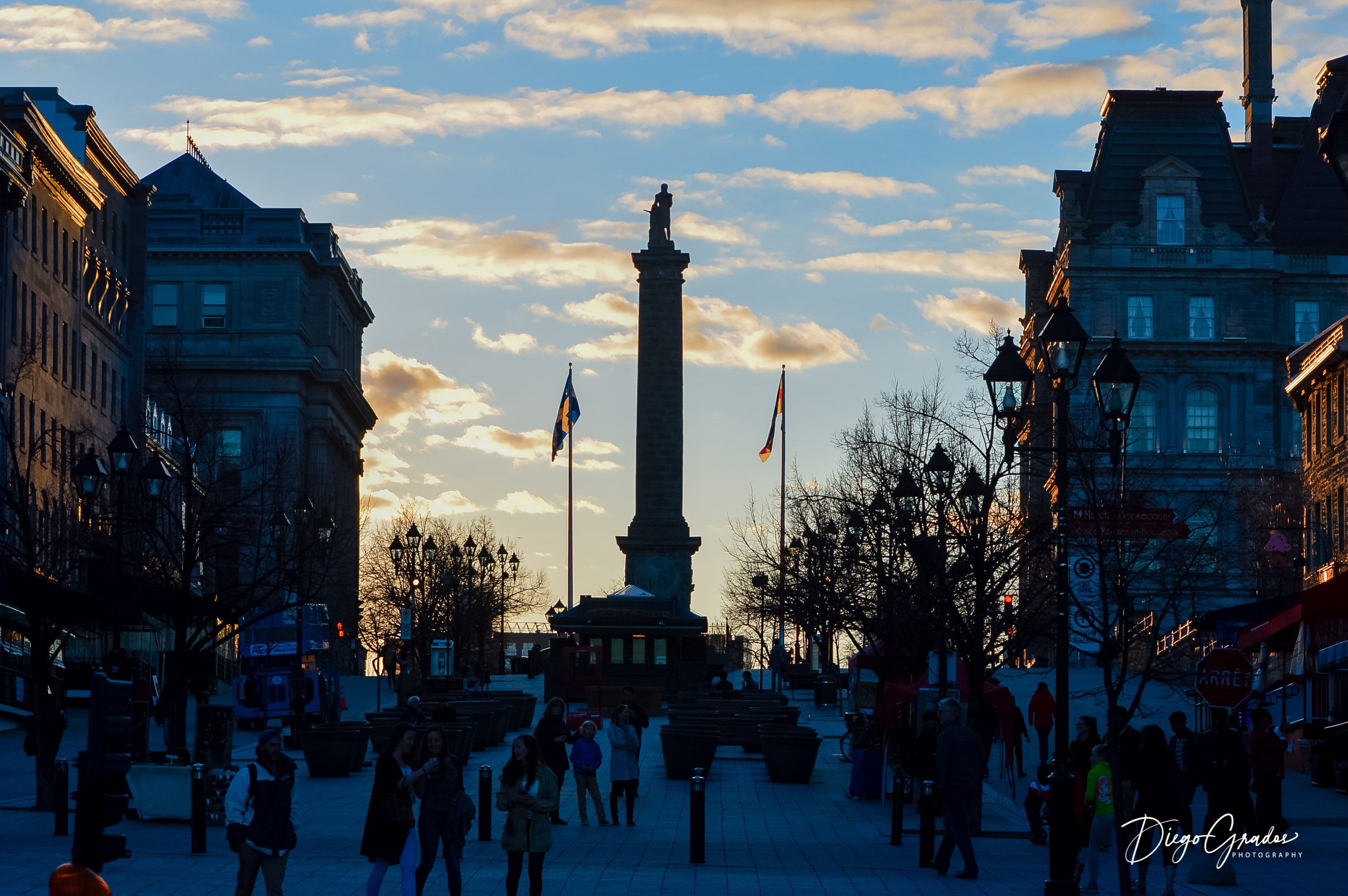 Nelson's Column Montreal