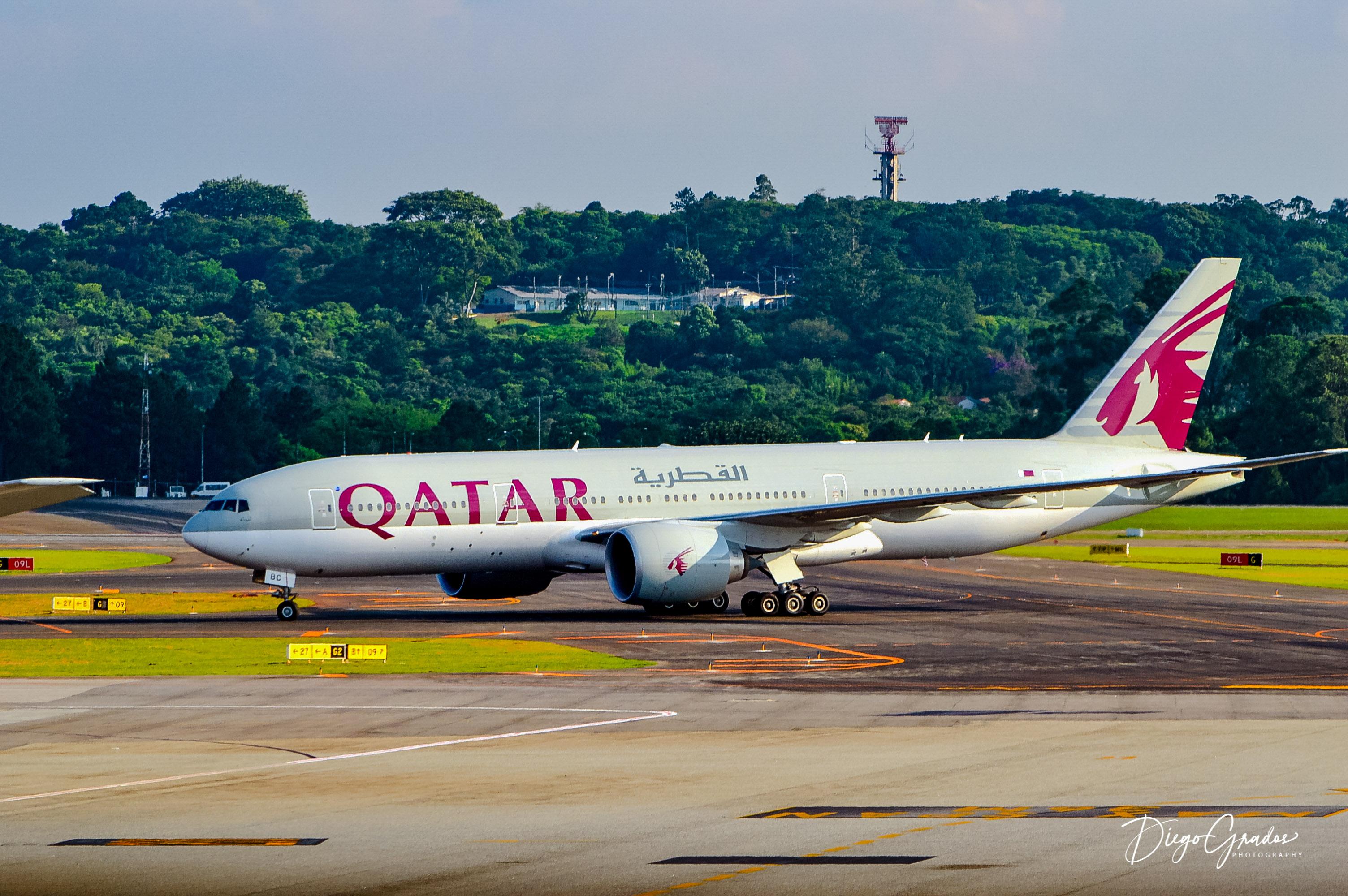 B777 Qatar Airways