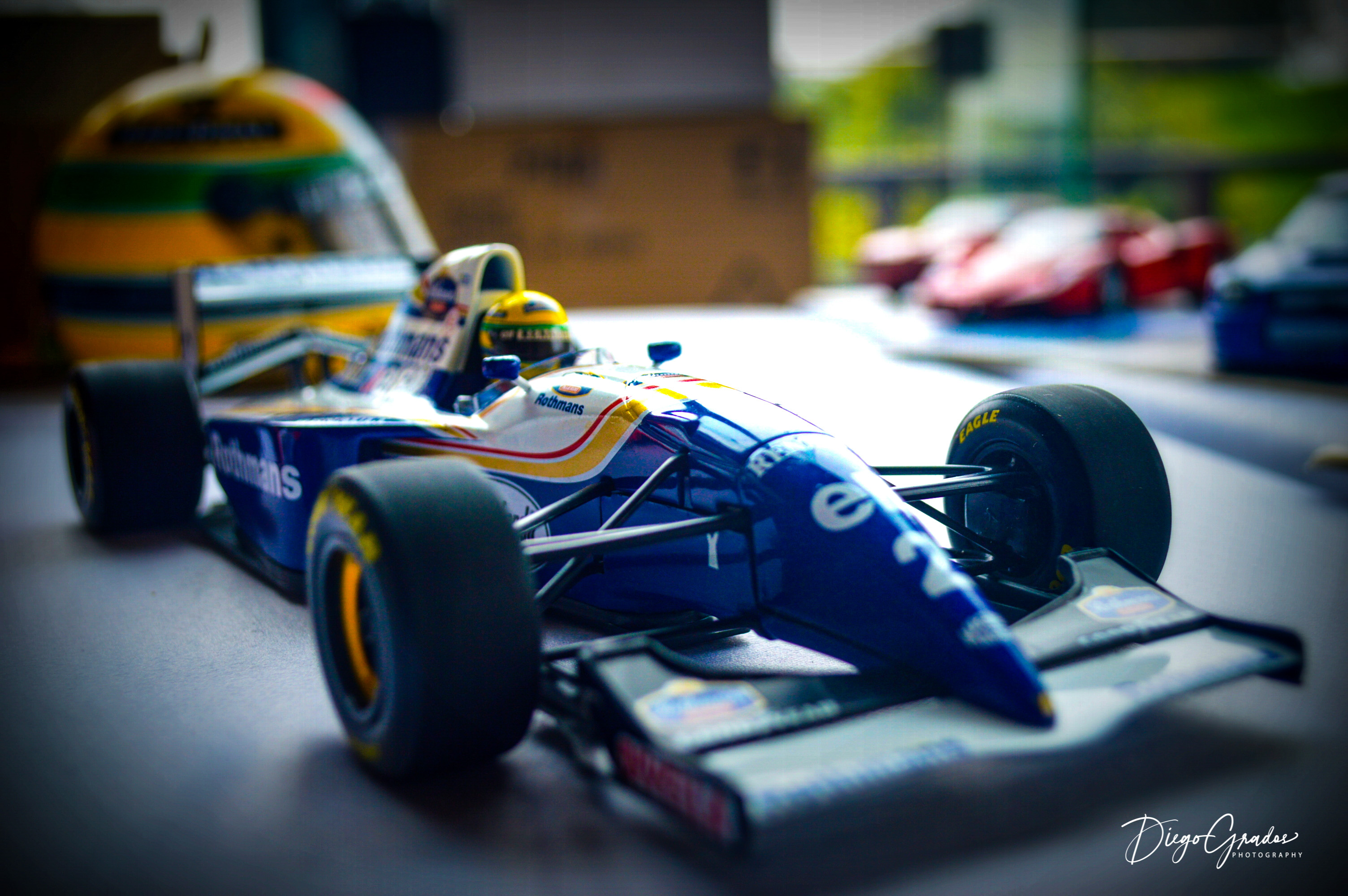 Williams FW16 Ayrton Senna