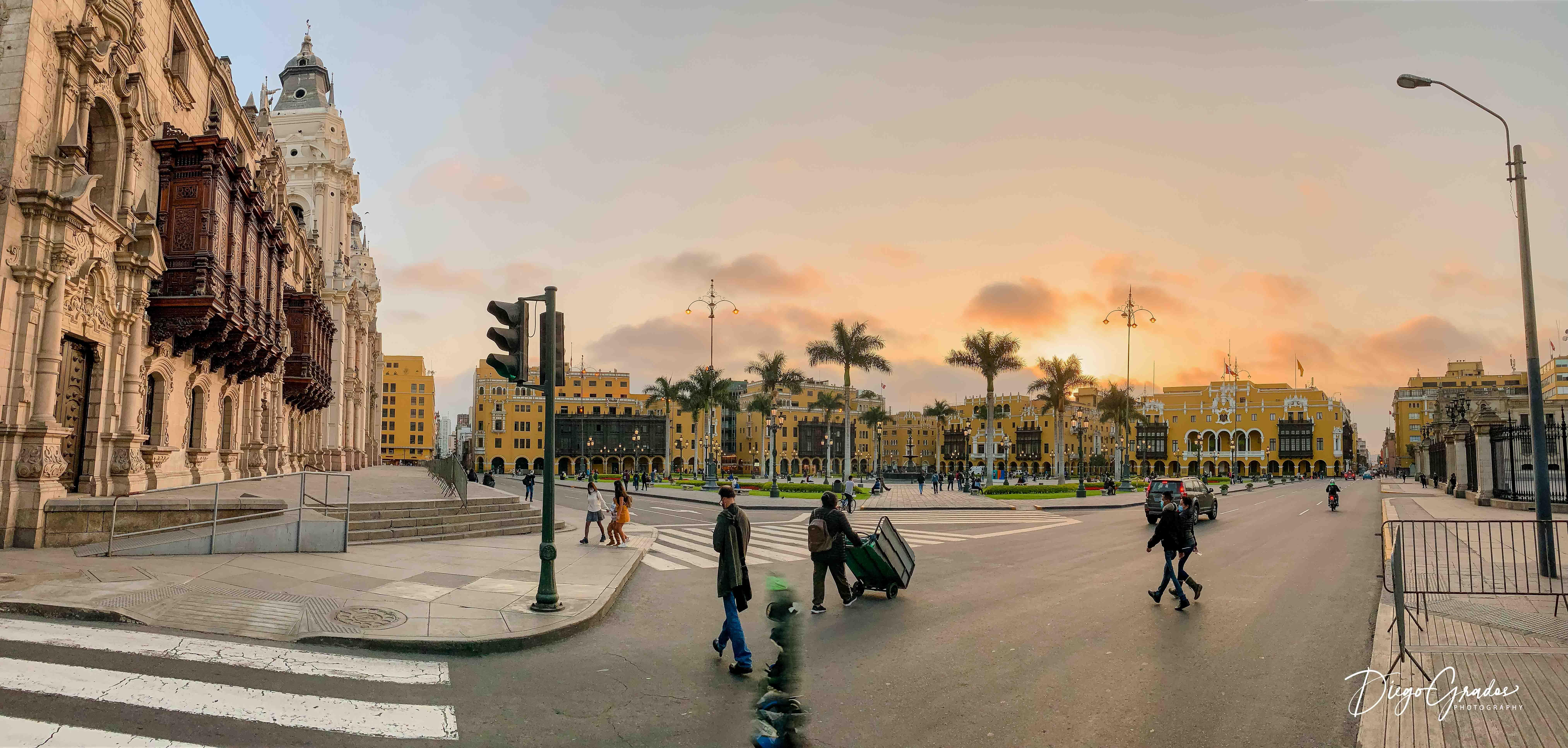 Plaza Mayor de Lima