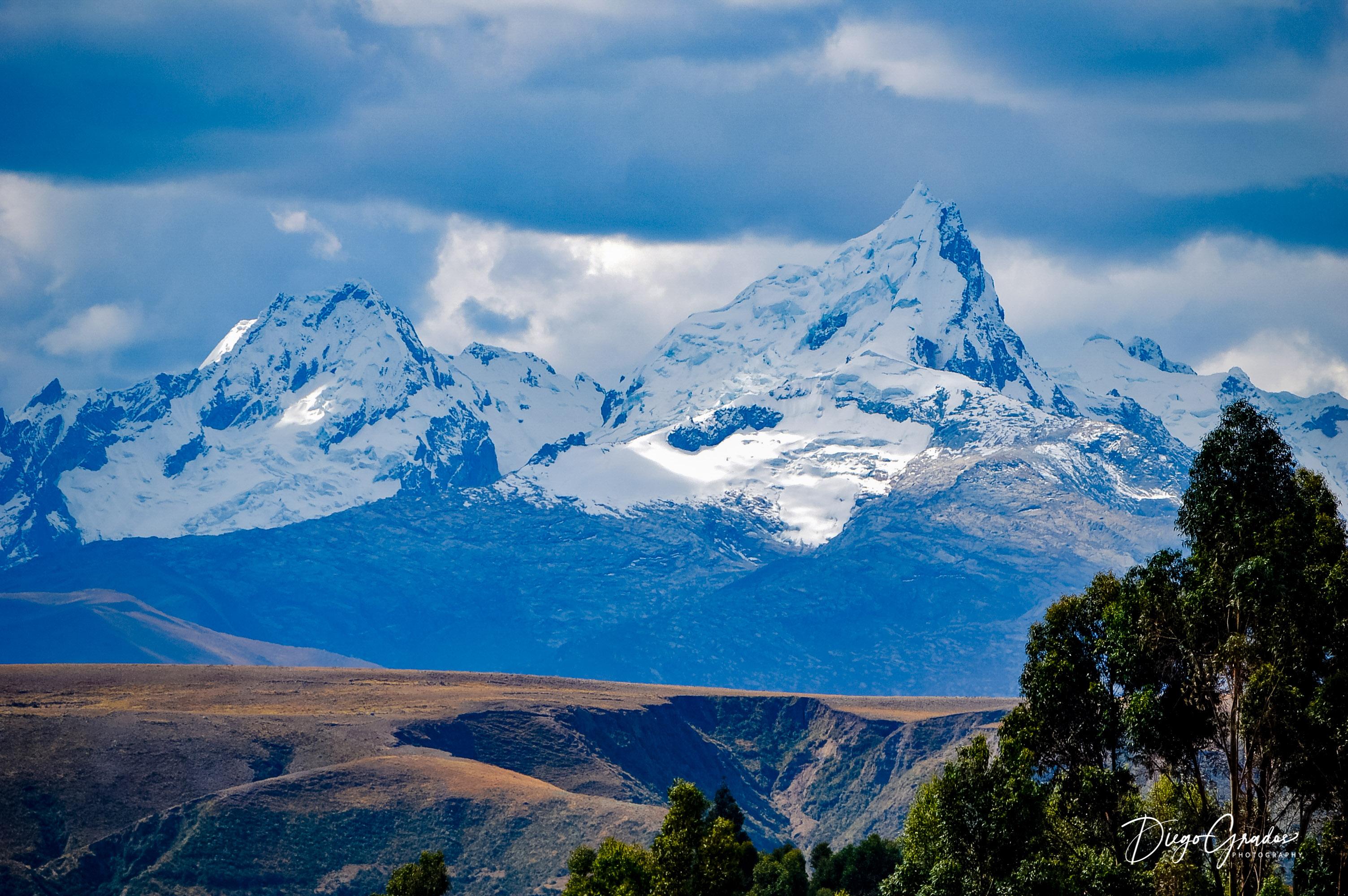 Nevados Cashan y Shaqsha
