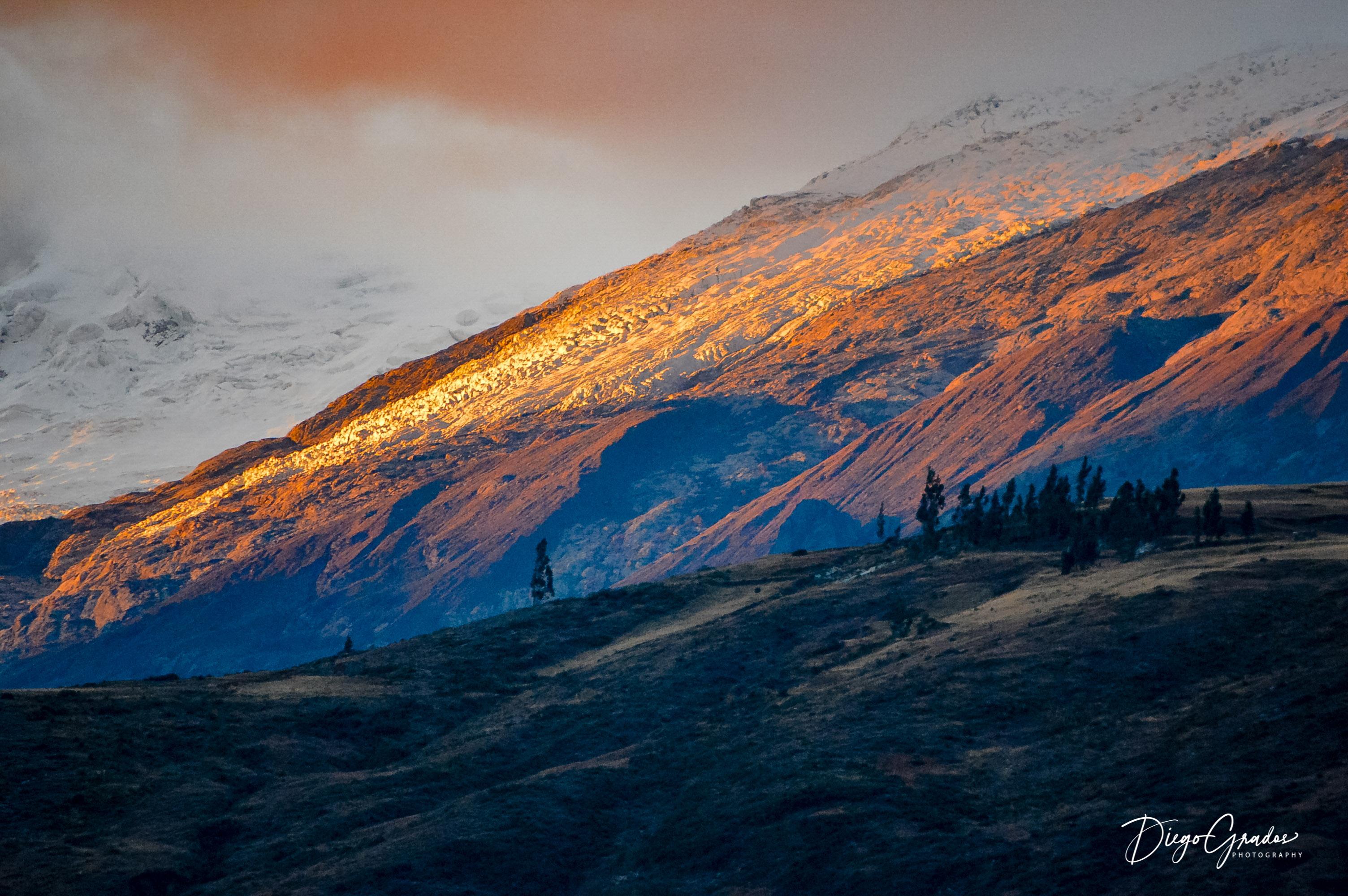 Las laderas del Huascarán