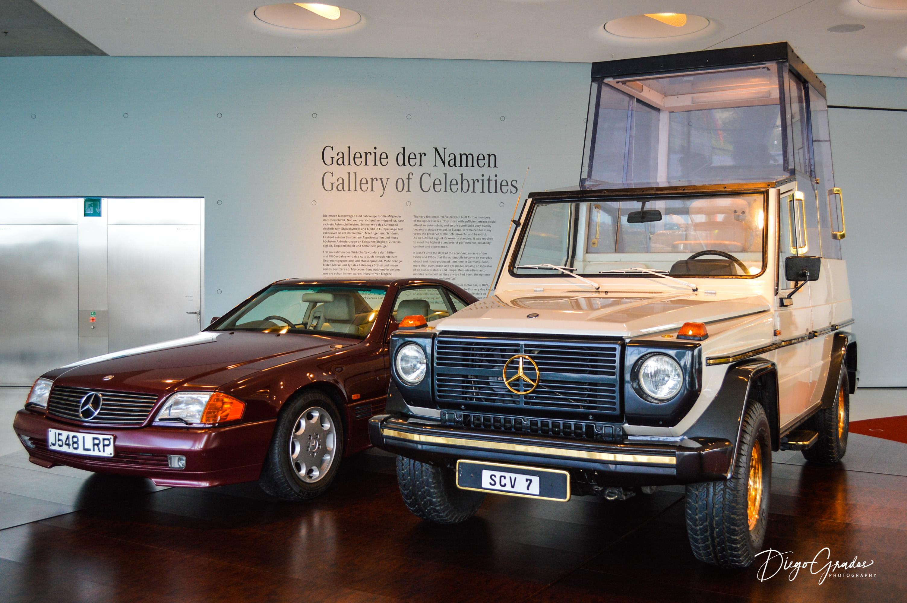 Mercedes 500 SL & G-Wagen