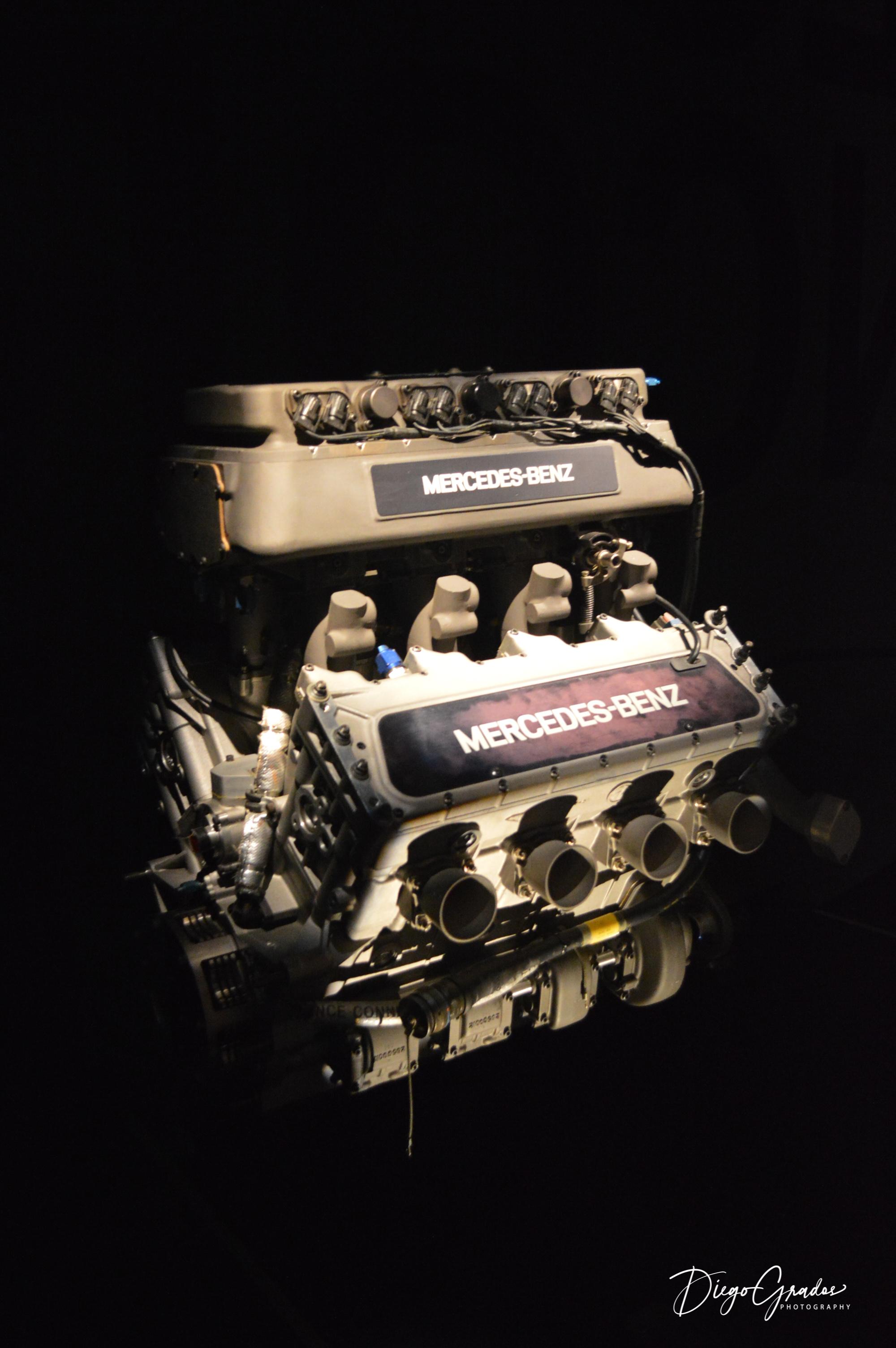 Mercedes-Benz 500 I Indycar Engine