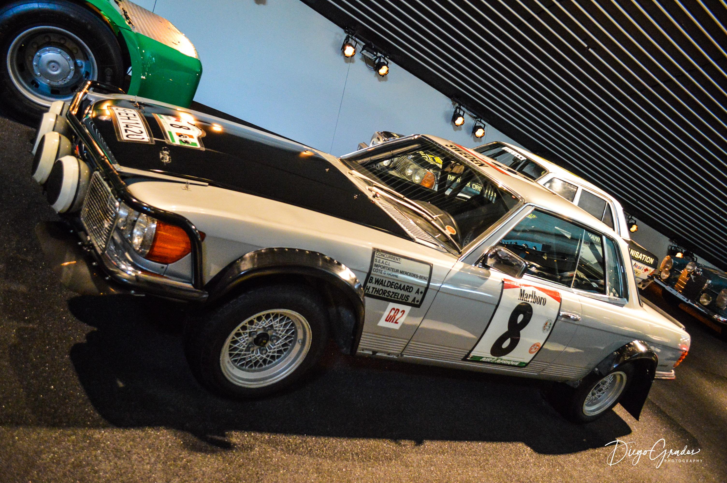 Mercedes-Benz 500 SLC Rallyewagen