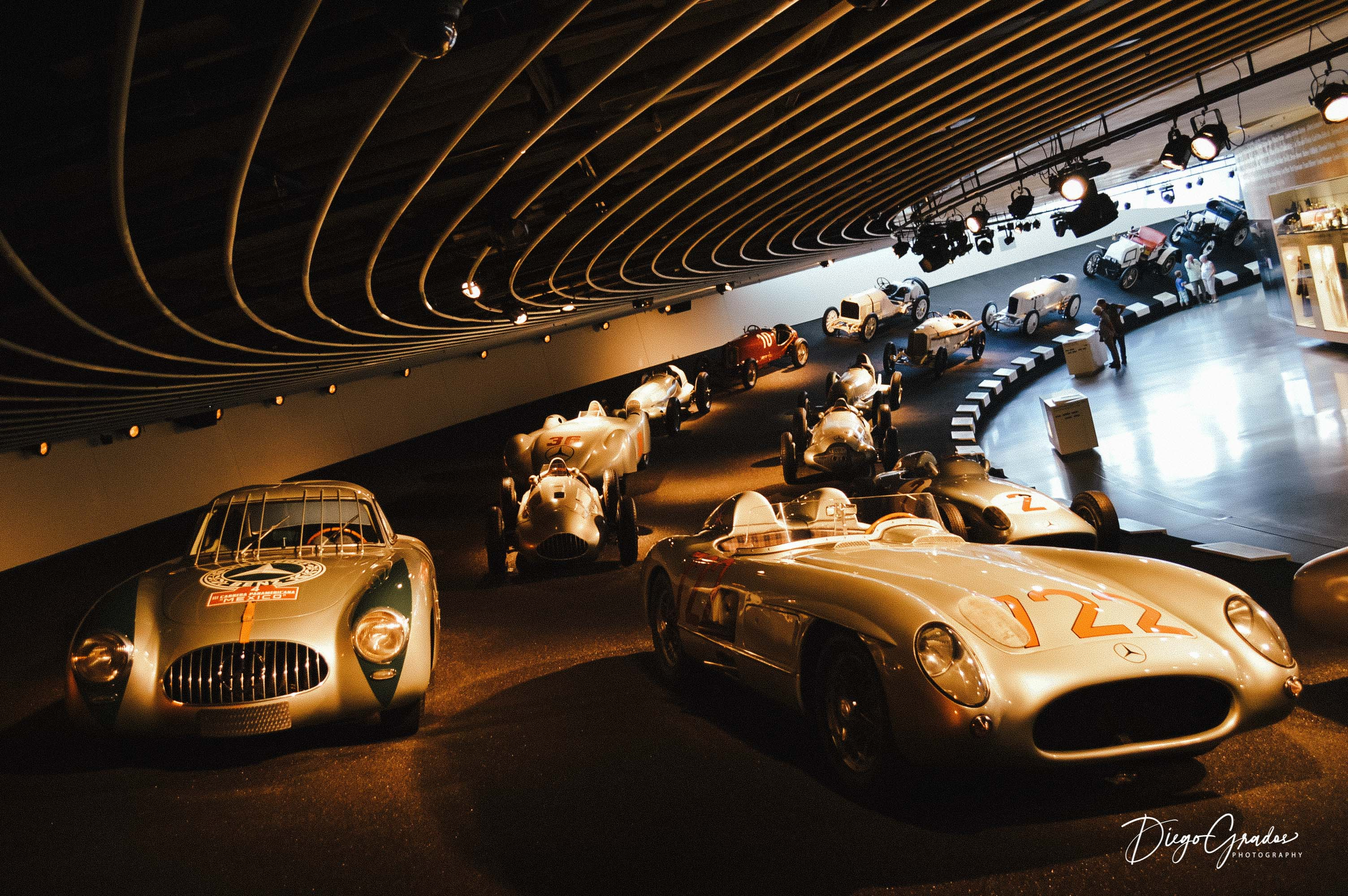 Old Mercedes Racing Cars