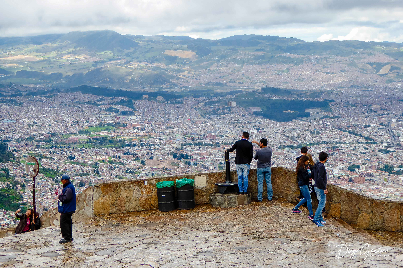 Mirando Bogotá